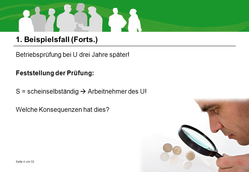 1. Beispielsfall (Forts.)