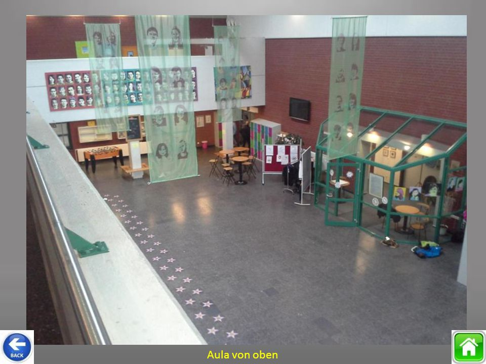 Aula von oben