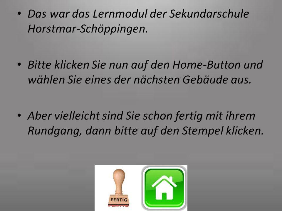 Das war das Lernmodul der Sekundarschule Horstmar-Schöppingen.