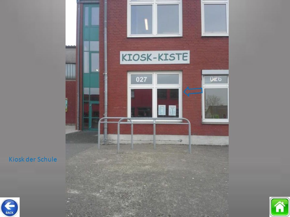Kiosk der Schule
