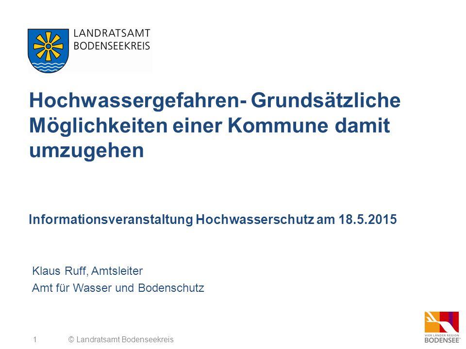 Klaus Ruff, Amtsleiter Amt für Wasser und Bodenschutz