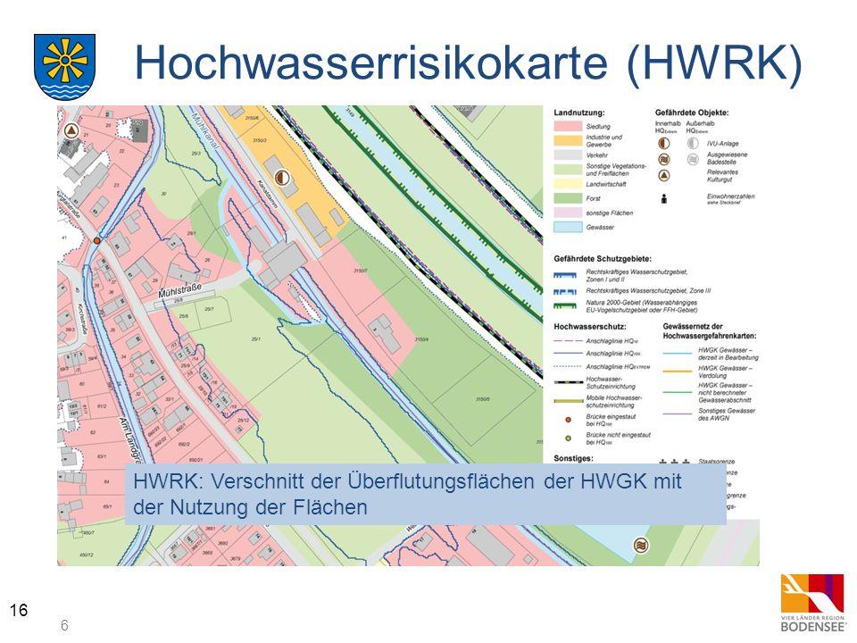Hochwasserrisikokarte (HWRK)