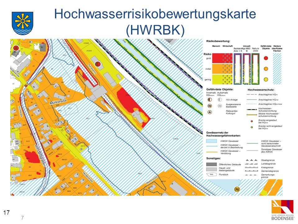 Hochwasserrisikobewertungskarte (HWRBK)