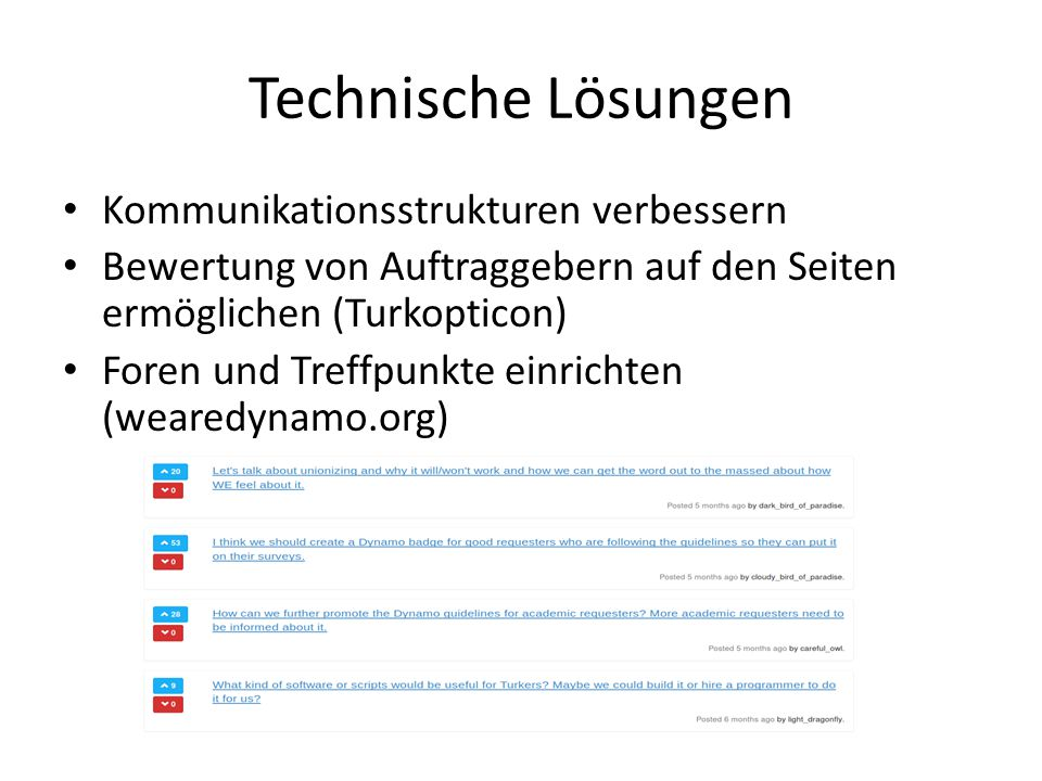 Technische Lösungen Kommunikationsstrukturen verbessern