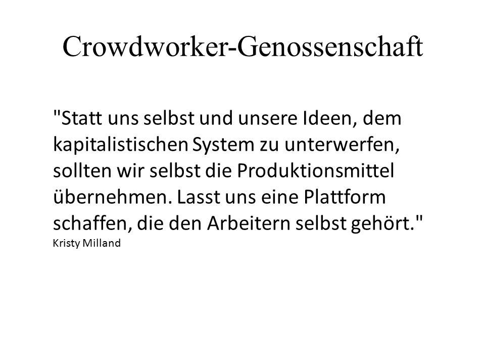 Crowdworker-Genossenschaft