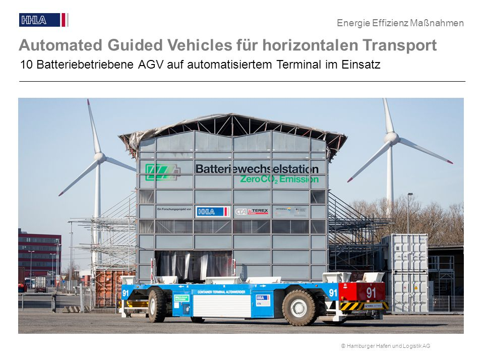 Automated Guided Vehicles für horizontalen Transport