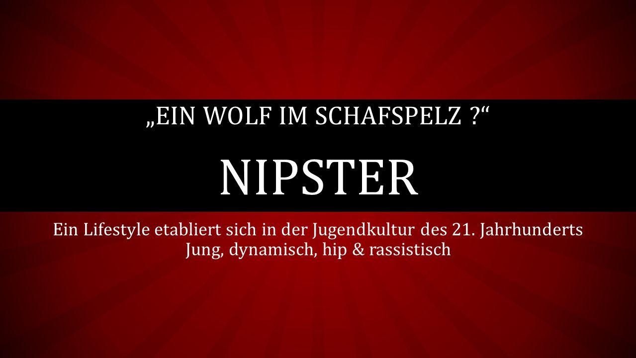 """""""Ein Wolf im Schafspelz Nipster"""