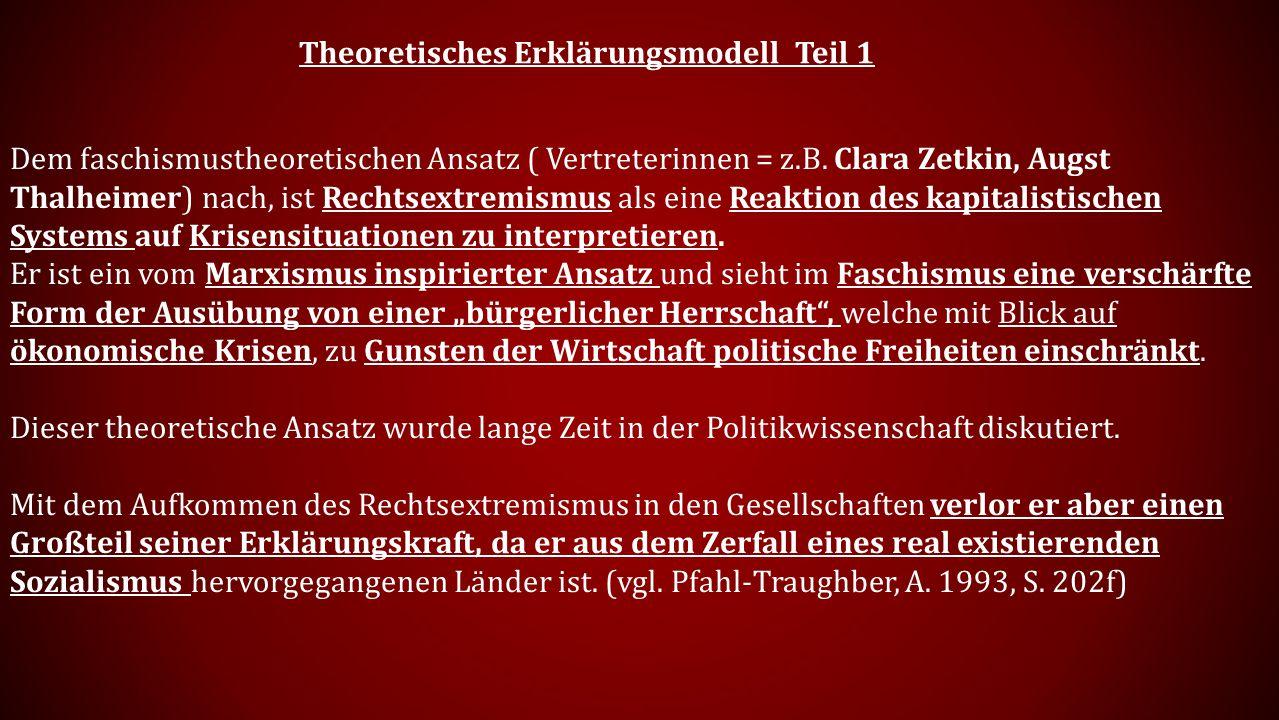 Theoretisches Erklärungsmodell Teil 1