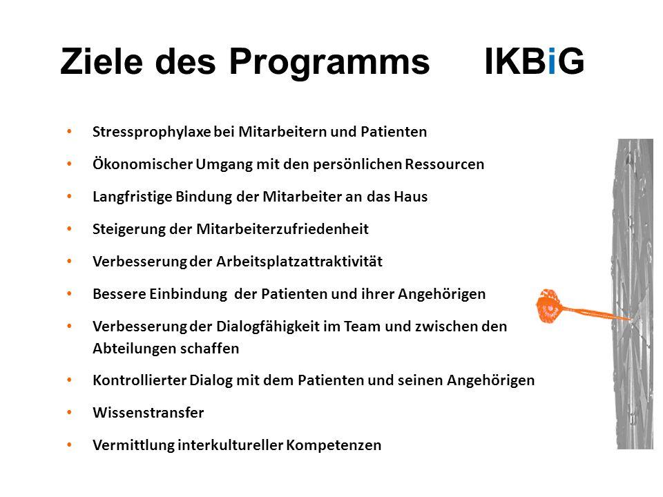 Ziele des Programms IKBiG