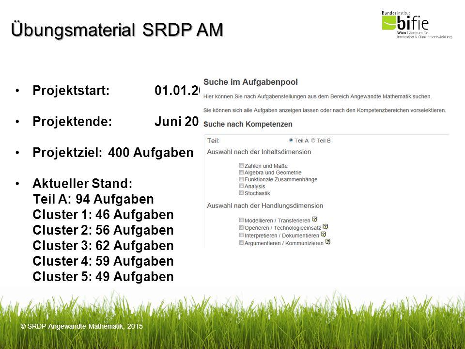 Übungsmaterial SRDP AM