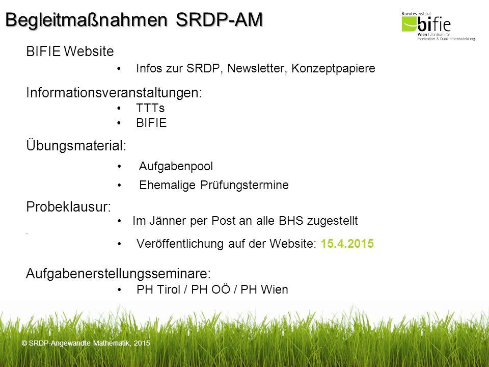 Begleitmaßnahmen SRDP-AM
