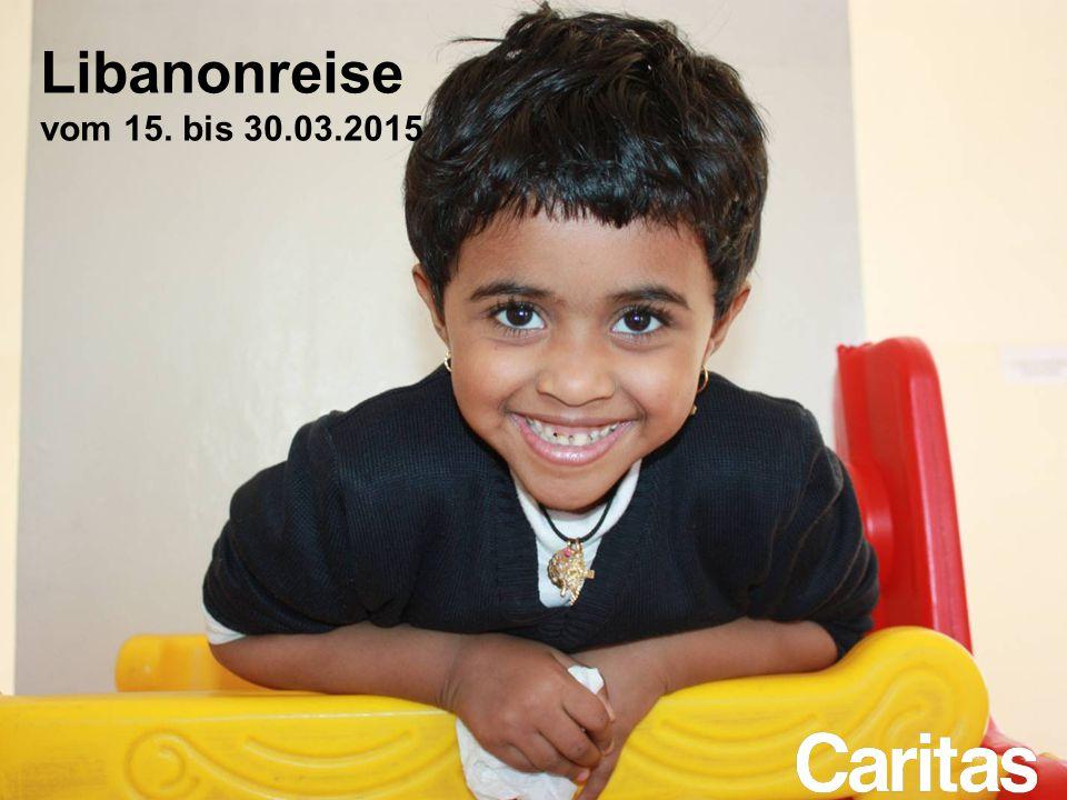 Libanonreise vom 15. bis 30.03.2015
