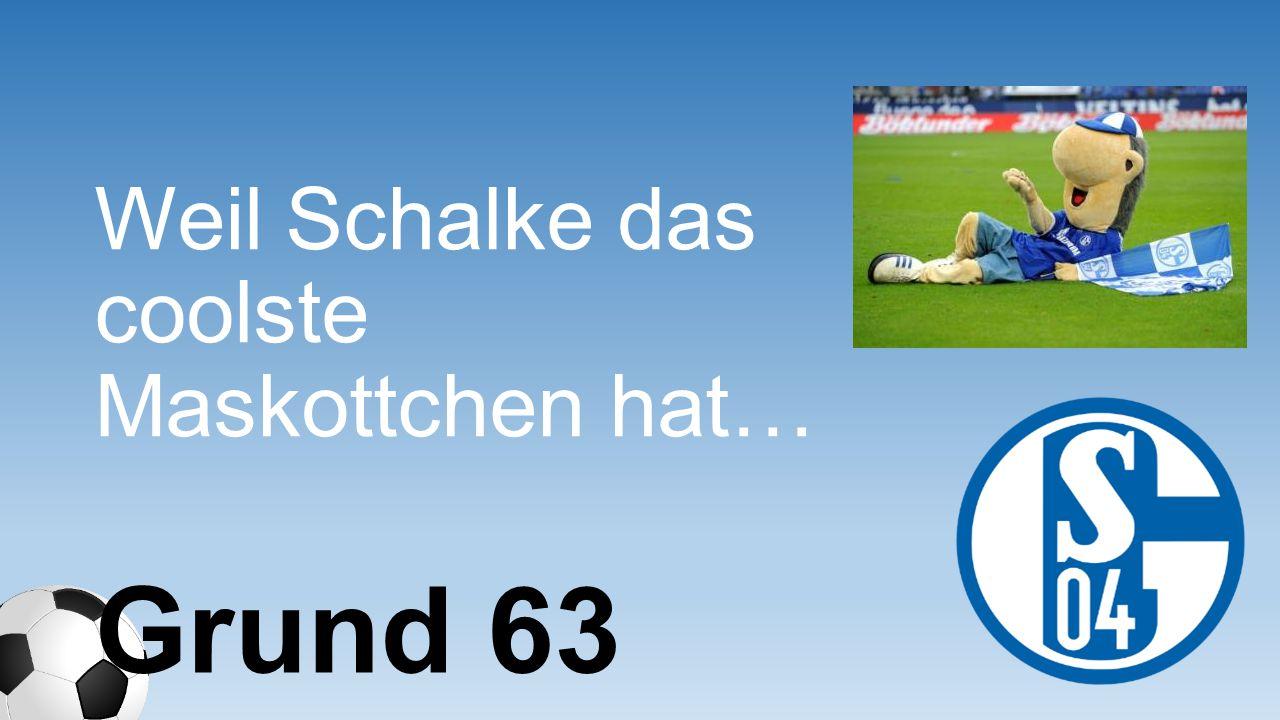 Weil Schalke das coolste Maskottchen hat…