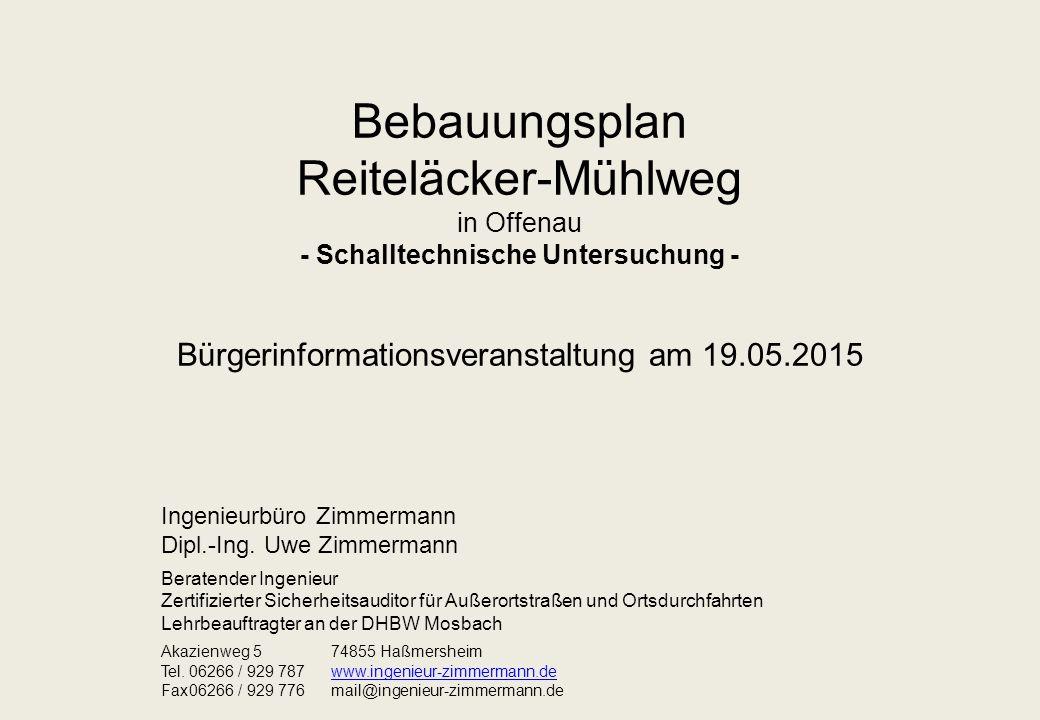 Bürgerinformationsveranstaltung am 19.05.2015