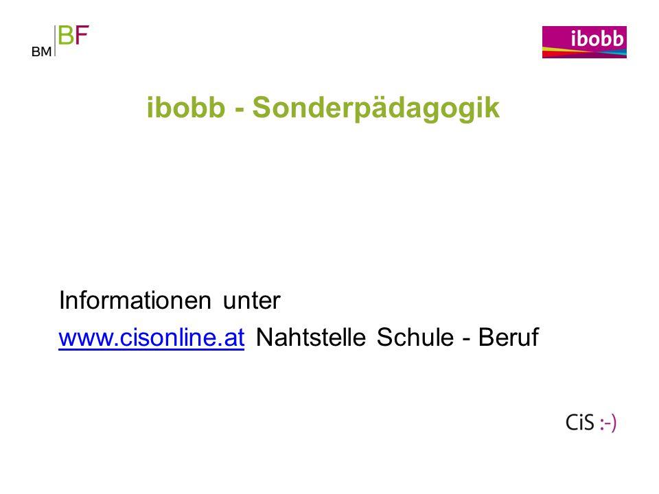 ibobb - Sonderpädagogik