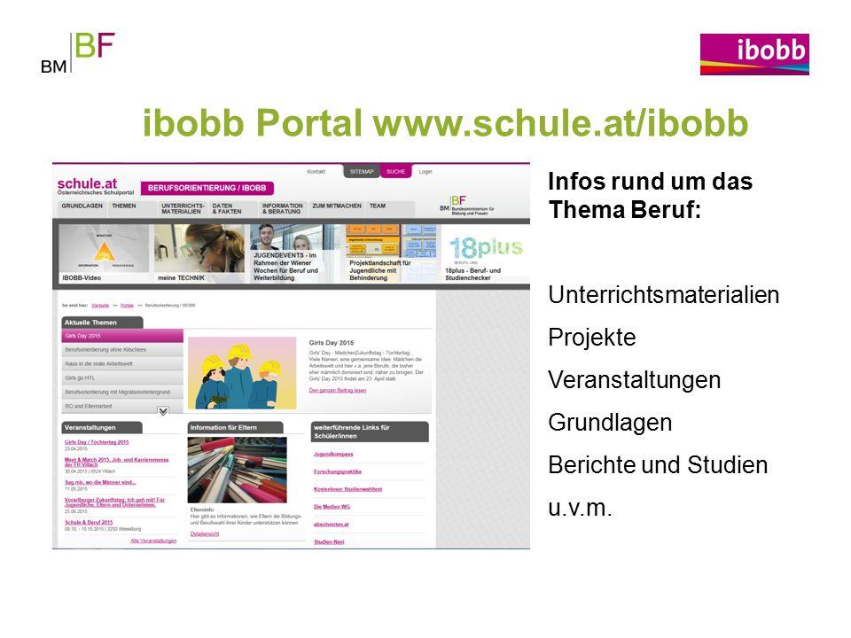 ibobb Portal www.schule.at/ibobb