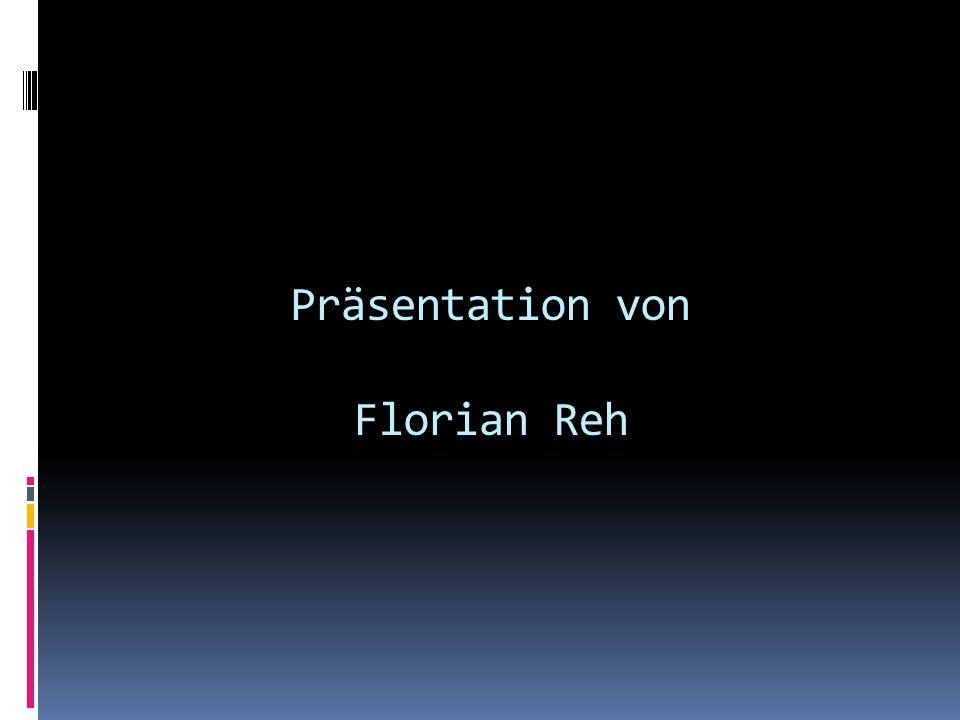 Präsentation von Florian Reh
