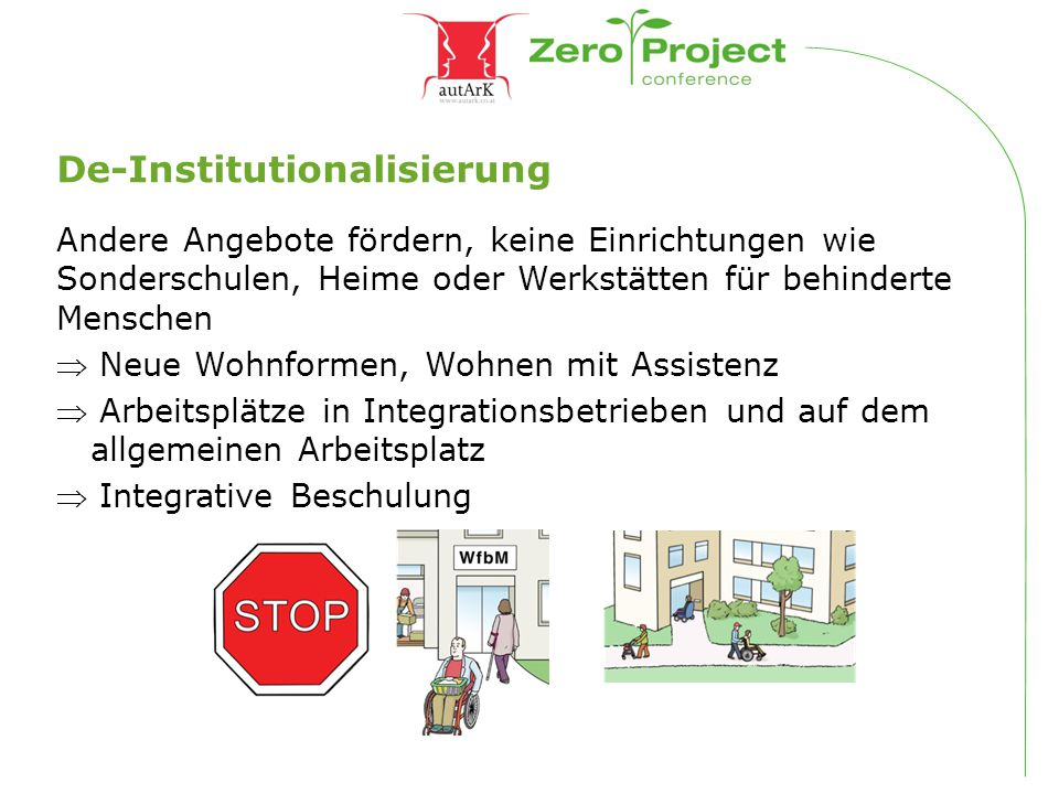 De-Institutionalisierung