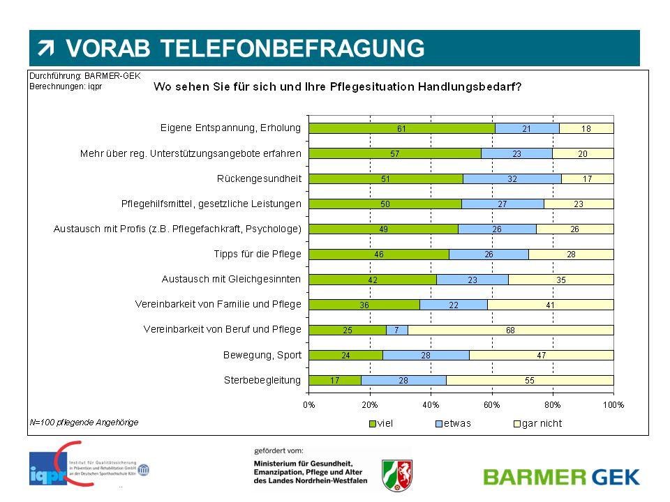 VORAB TELEFONBEFRAGUNG