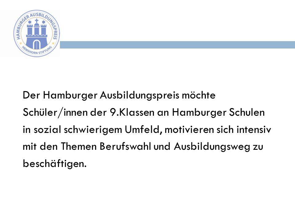 Der Hamburger Ausbildungspreis möchte Schüler/innen der 9