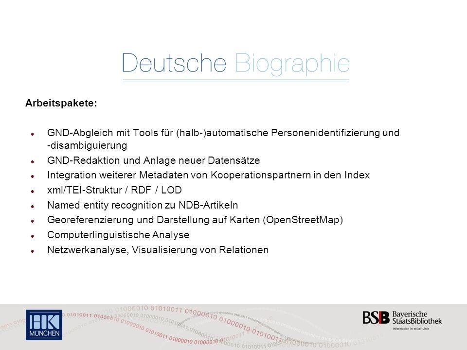 GND-Redaktion und Anlage neuer Datensätze