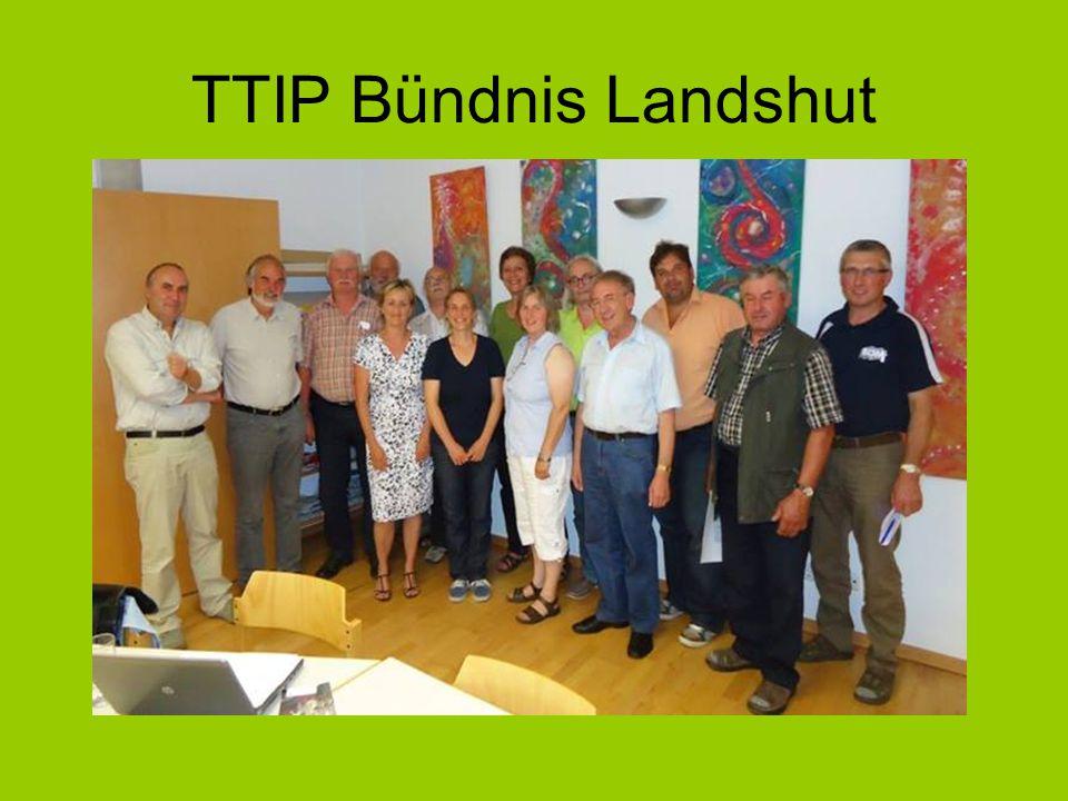 TTIP Bündnis Landshut