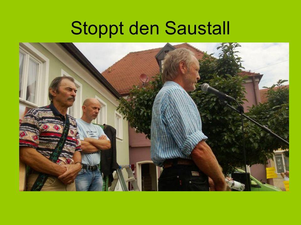 Stoppt den Saustall