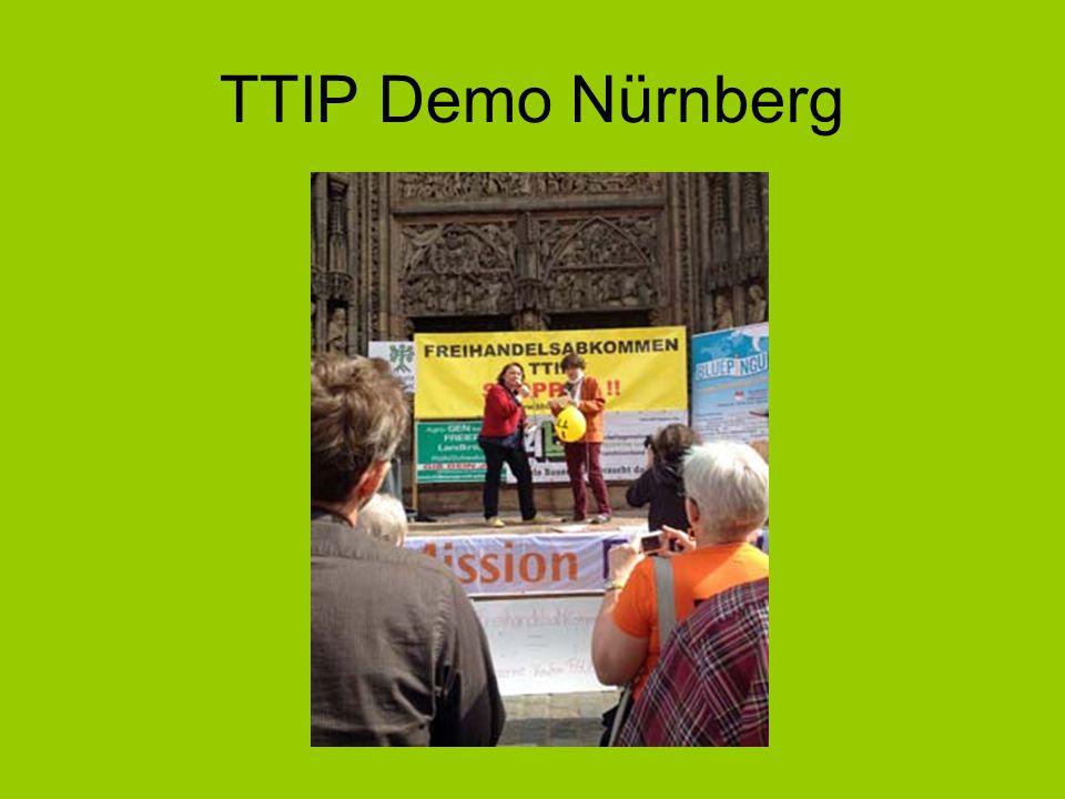 TTIP Demo Nürnberg