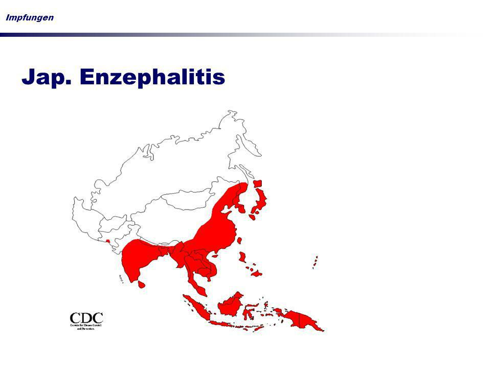 Impfungen Jap. Enzephalitis