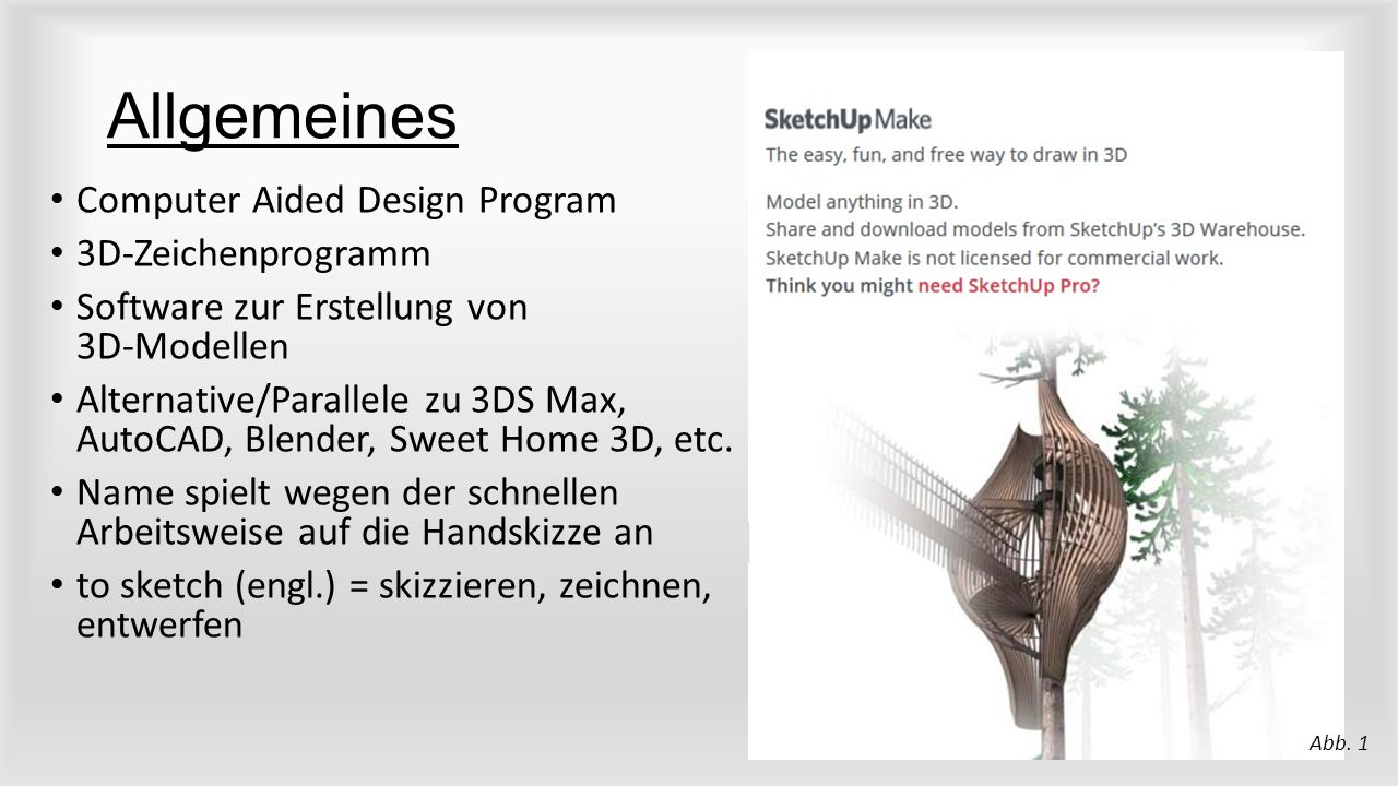 Allgemeines Computer Aided Design Program 3D-Zeichenprogramm