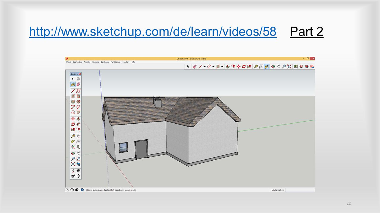 http://www.sketchup.com/de/learn/videos/58 Part 2