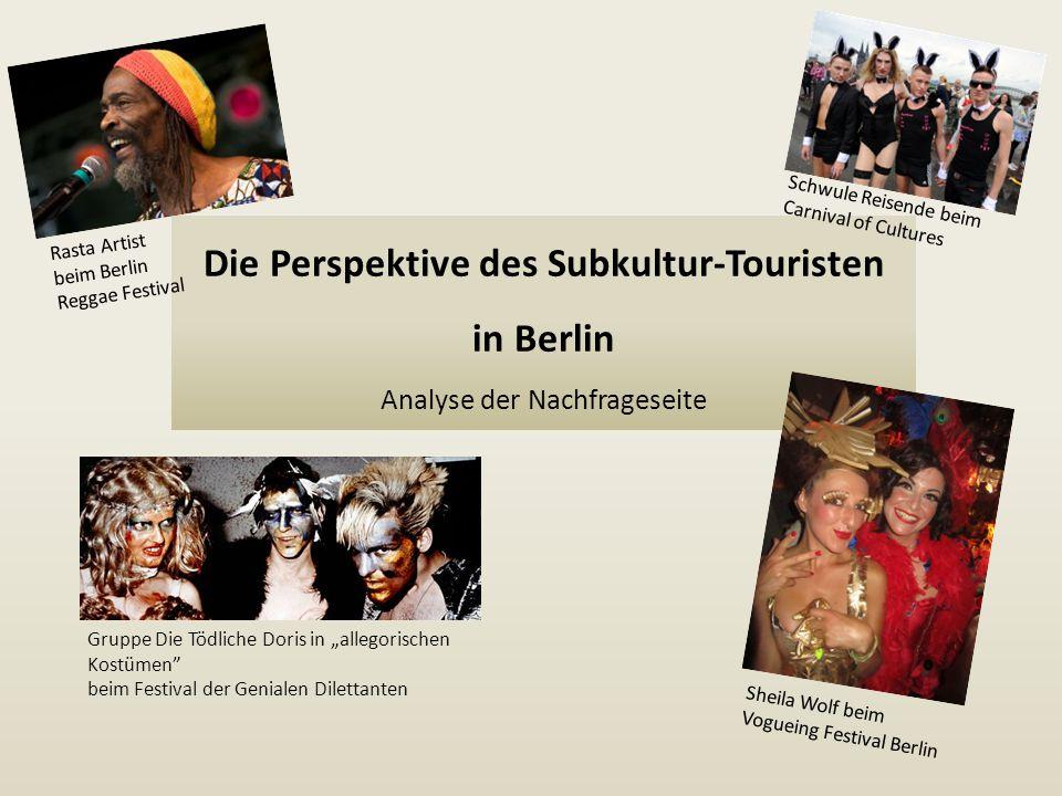 Die Perspektive des Subkultur-Touristen in Berlin