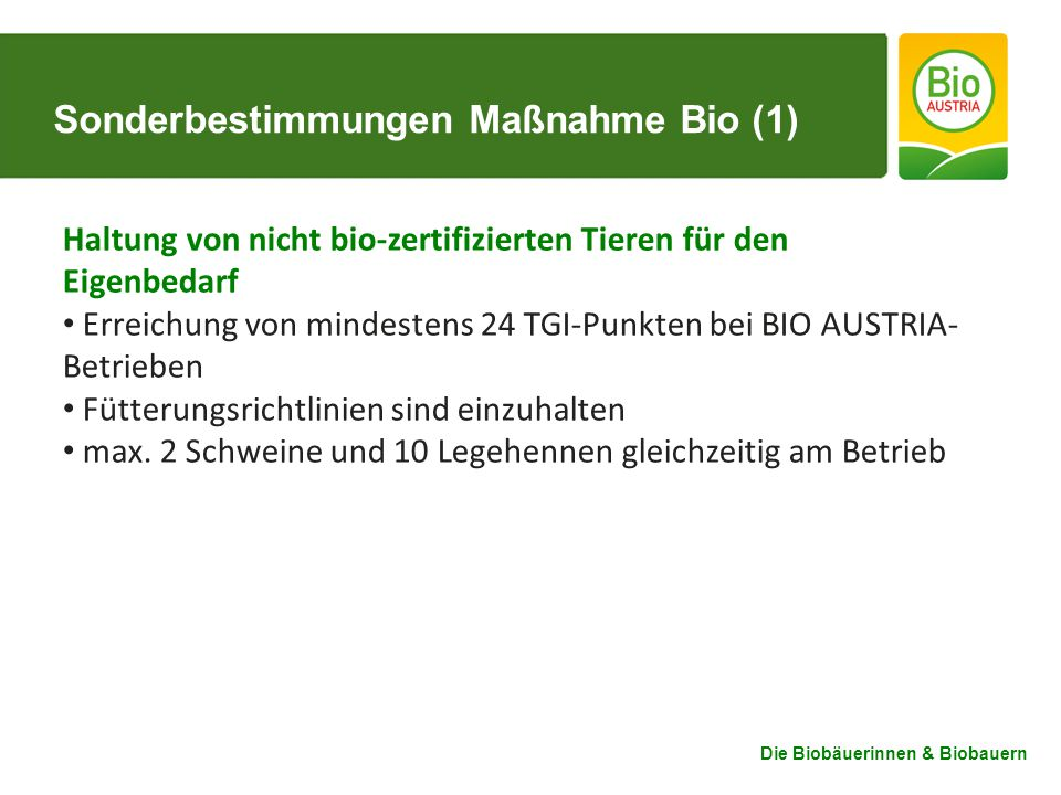 Sonderbestimmungen Maßnahme Bio (1)