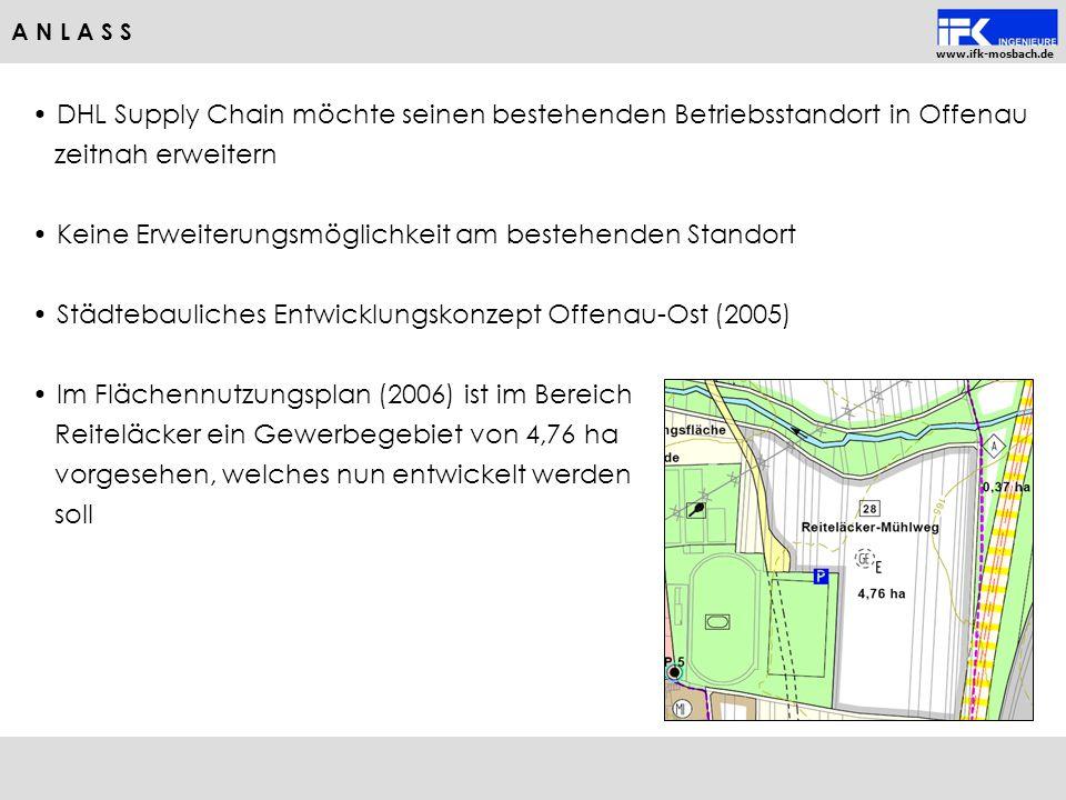 DHL Supply Chain möchte seinen bestehenden Betriebsstandort in Offenau