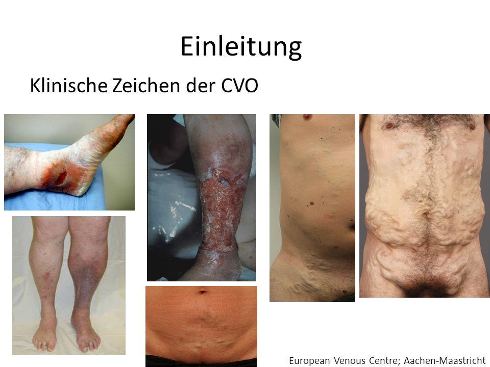 Einleitung Klinische Zeichen der CVO