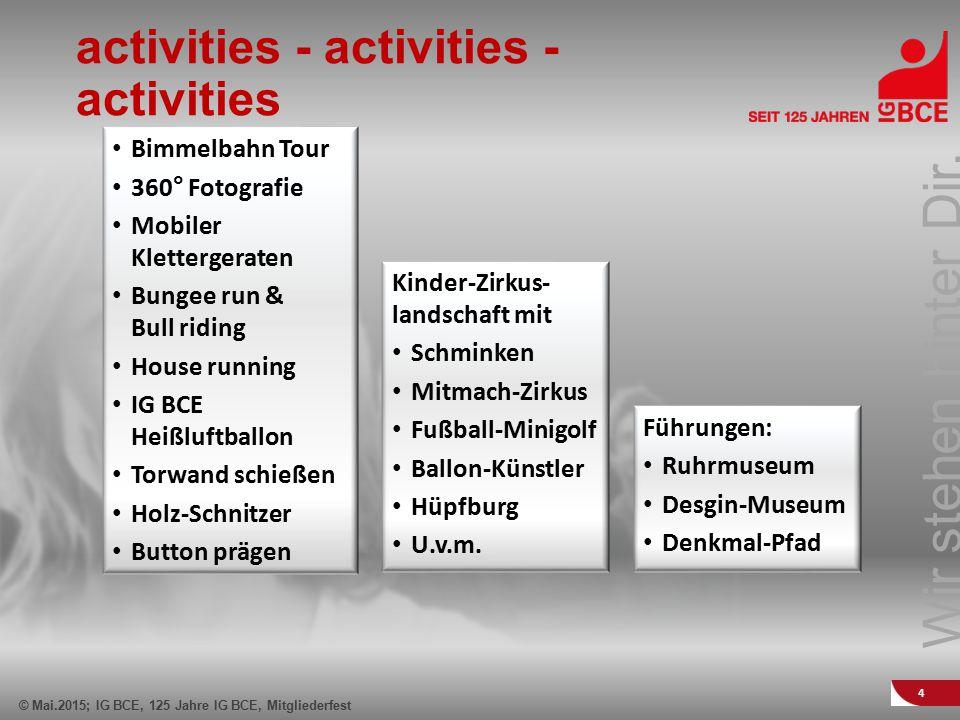 activities - activities - activities