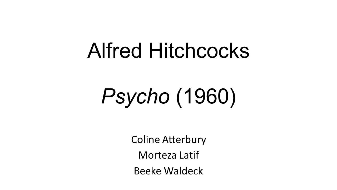 Alfred Hitchcocks Psycho (1960)