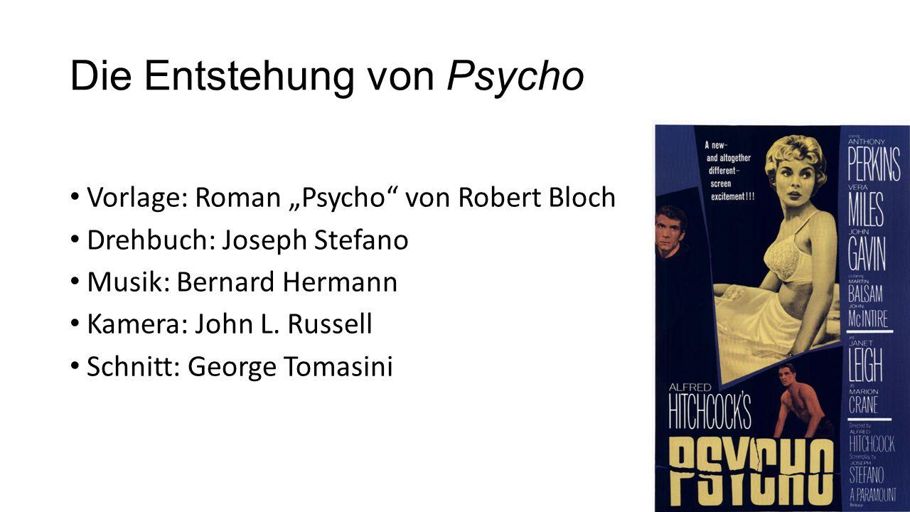Die Entstehung von Psycho