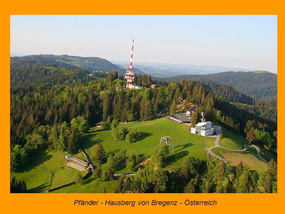 Pfänder - Hausberg von Bregenz - Österreich