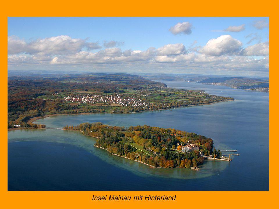 Insel Mainau mit Hinterland