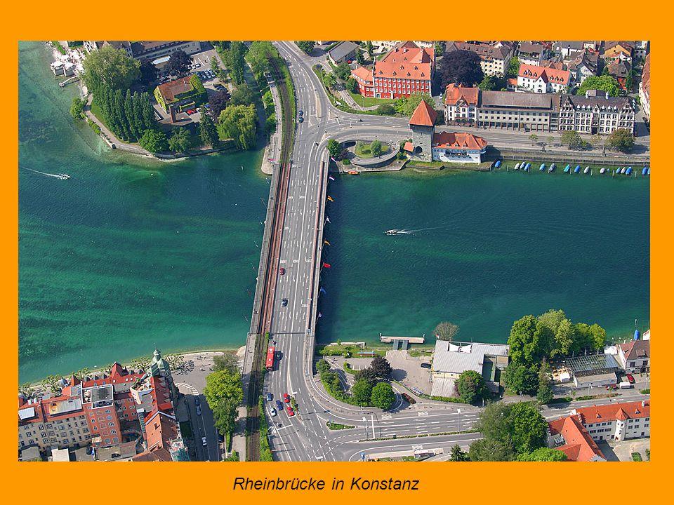 Rheinbrücke in Konstanz