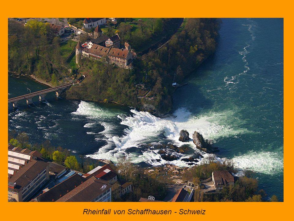 Rheinfall von Schaffhausen - Schweiz