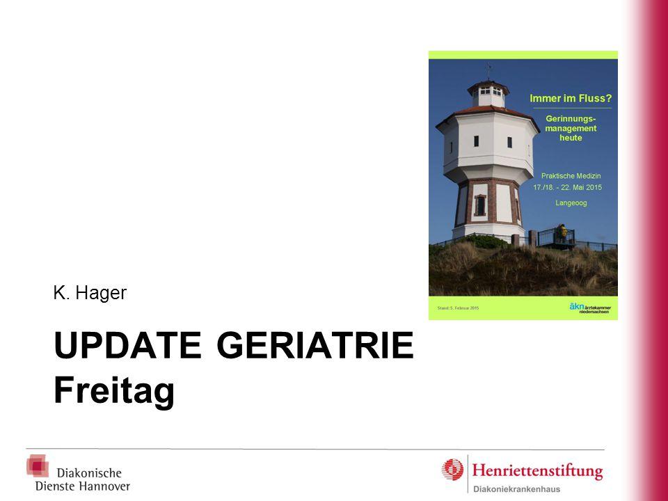 UPDATE GERIATRIE Freitag