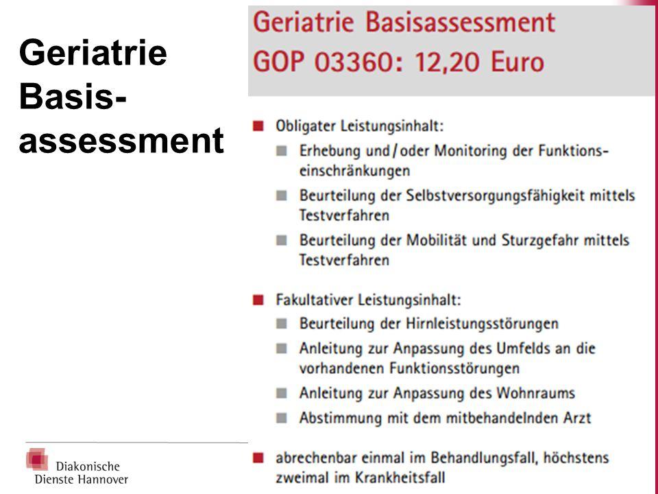 Geriatrie Basis-assessment