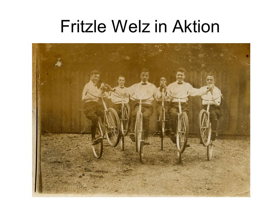 Fritzle Welz in Aktion