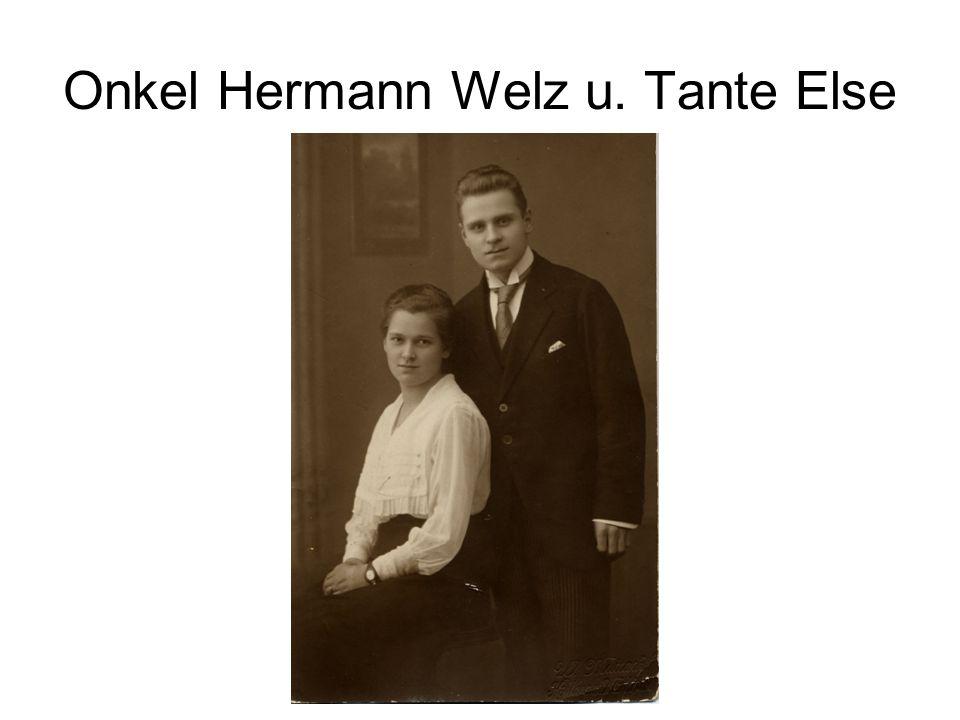 Onkel Hermann Welz u. Tante Else