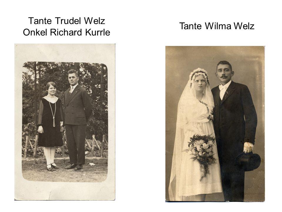 Tante Trudel Welz Onkel Richard Kurrle