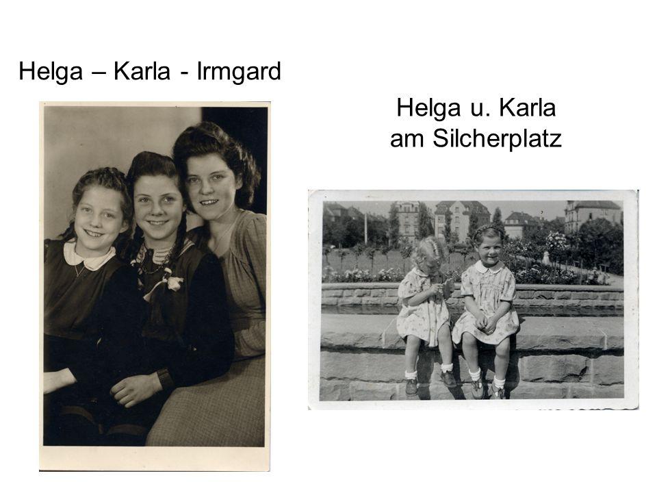 Helga u. Karla am Silcherplatz