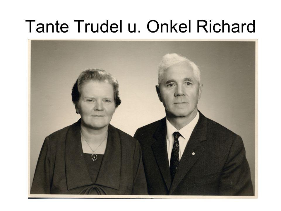 Tante Trudel u. Onkel Richard