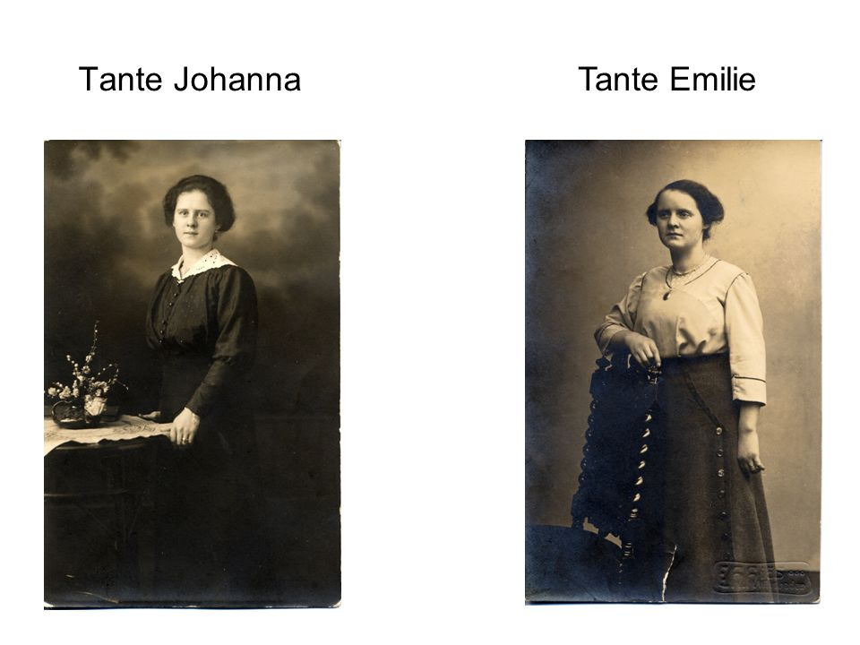 Tante Emilie Tante Johanna